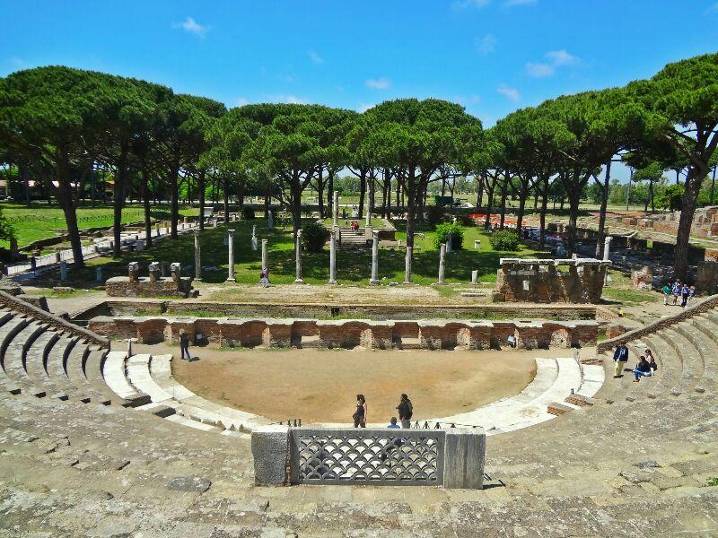 Ostia  Antica  Amphitheatre