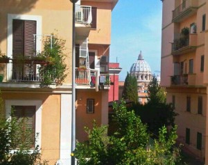 View of San Pietro From Behind Our Apartment
