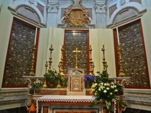 Bones of the Otranto Matyrs, Otranto Cathedral