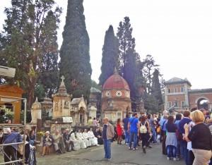 Campo Verano Cemetery, Rome