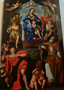Domenichino: Assumption of Mary Magdalene into Heaven