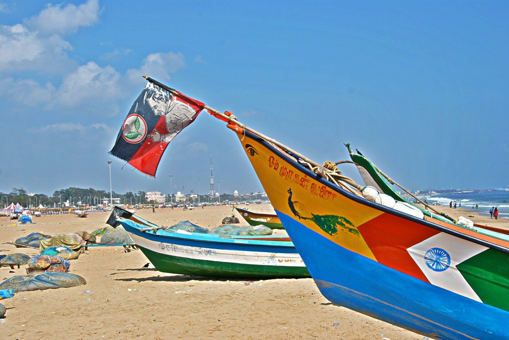 Fishing Boat, Marina Beach, Chennai