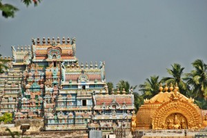 Ranganatha Temple, Trichy, Rooftop View
