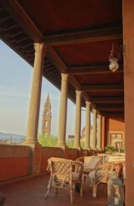 Palazzo Guadagno Terrace