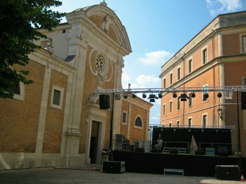 Piazza Santa Maria Salome, Veroli