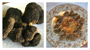 Black Truffles and Risotto