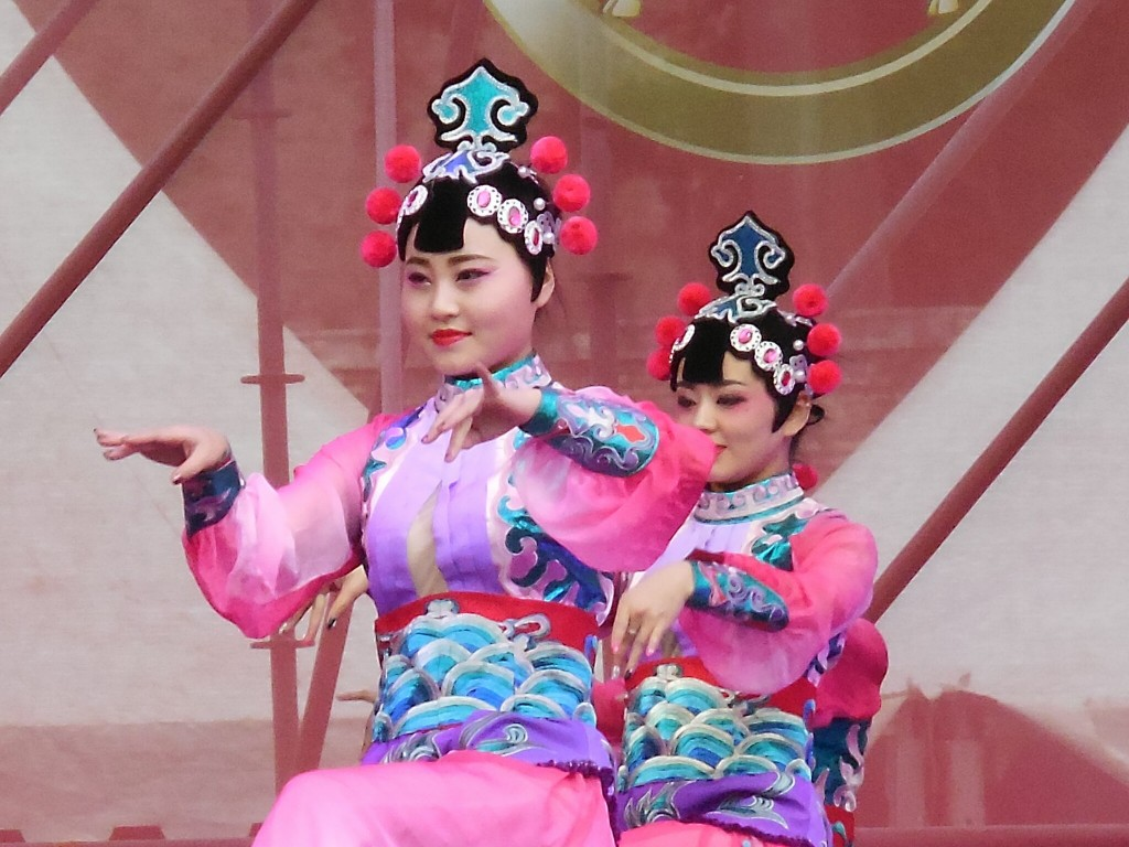Chinese New Year Performance, Piazza del Popolo