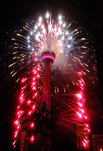PanAm Closing Ceremony Fireworks