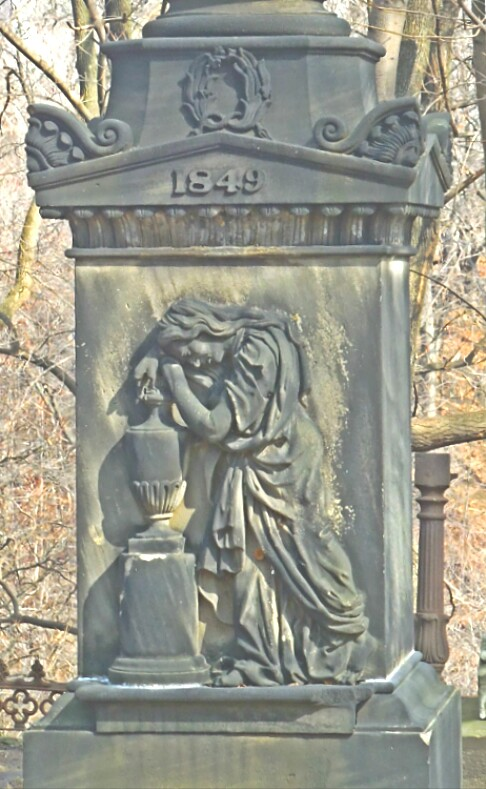 Old Tombstone, St. James Cemetery