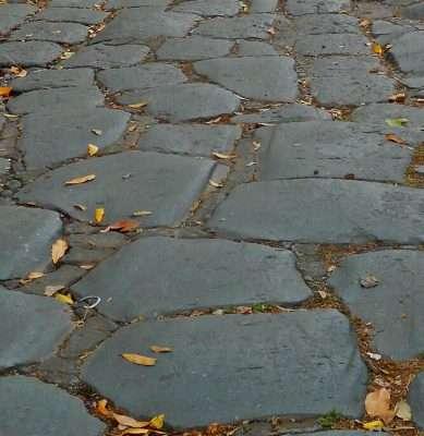 Original Section of Via Appia Antica
