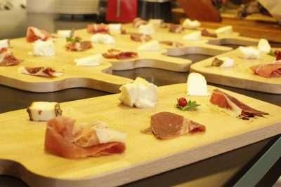 Cheese/Prosciutto Tasting Plate at Secondo Tradizione