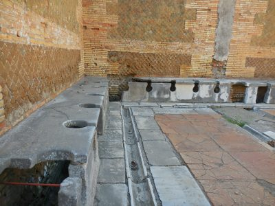 Roman Latrine, Ostia Antica