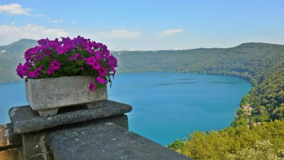 Lake Albano at Castel Gandolfo
