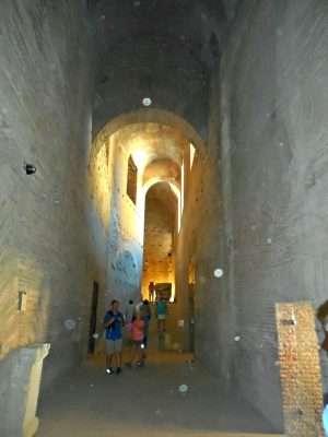 Roman Passageway to Palatine Hill