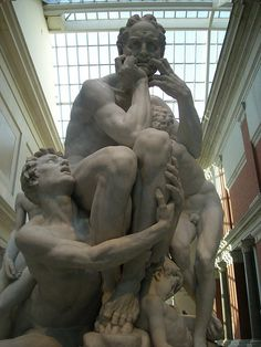 Ugolino and His sons Jean-Baptiste Carpeaux Metropolitan Museum NYC