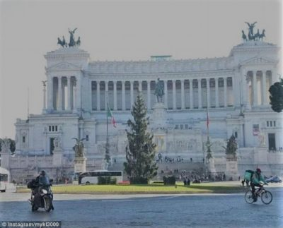 Piazza Venezia, Rome 2016 Photo: The Daily Mail
